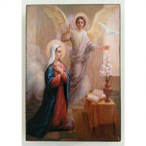 """Annunciation, Christian Icon 6x4"""" (16x11cm) - Artastate"""