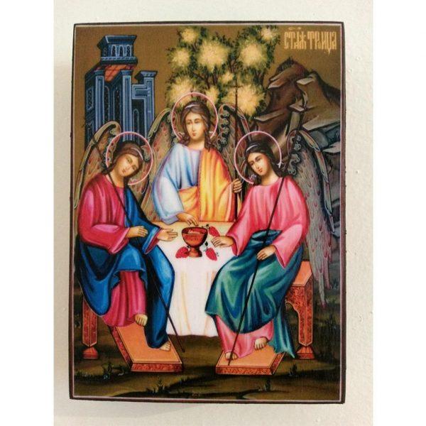 """The Holy Trinity"" Christian Icon 4x3"" (11x8cm)"