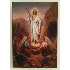 "Easter, Christian Icon 6x4"" (16x11cm) - Artastate"