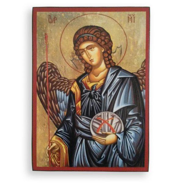 Saint Michael, Christian Icon by Nelly Jordanova