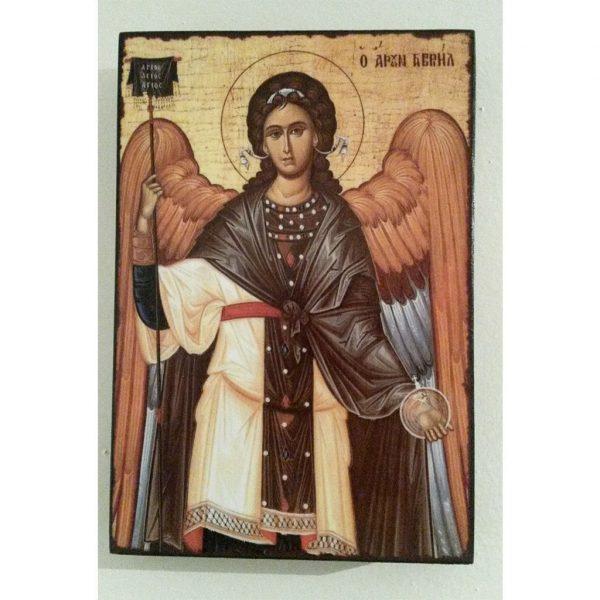 "Saint Gabriel, Christian Icon 6x4"" (16x11cm) - Artastate"