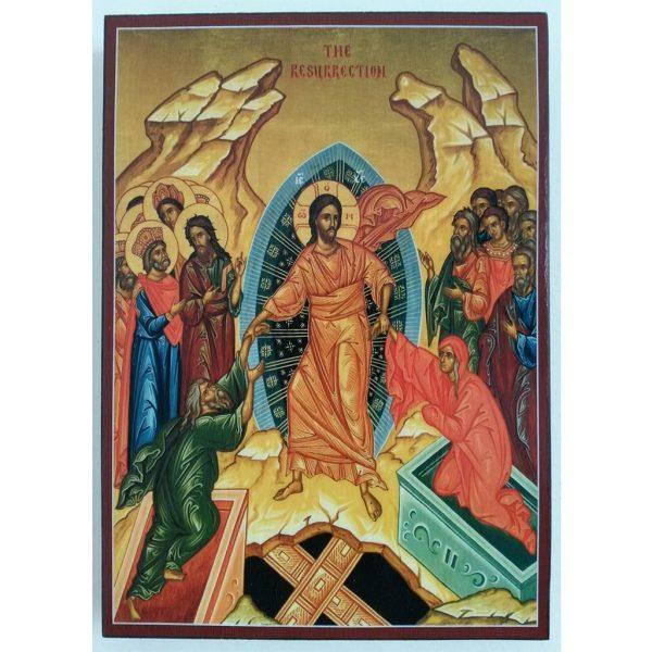 "Easter, Christian Icon 8x6"" (21x15cm) - Artastate"