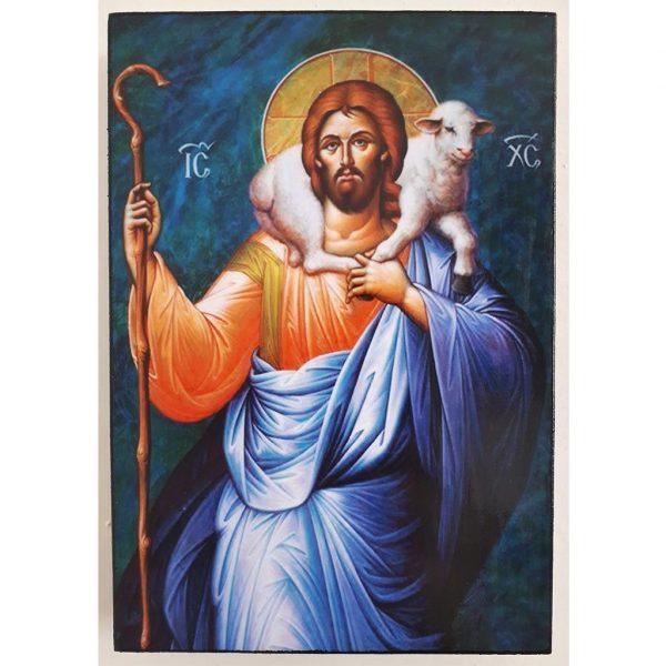 "Jesus Christ, Christian Icon 6x4"" (16x11cm) - Artastate"