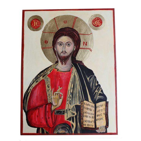 Jesus Christ, Christian Icon 16x12 in / 40x30 cm