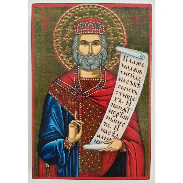 "King David, Christian Icon 6x4"" (16x11cm) - Artastate"