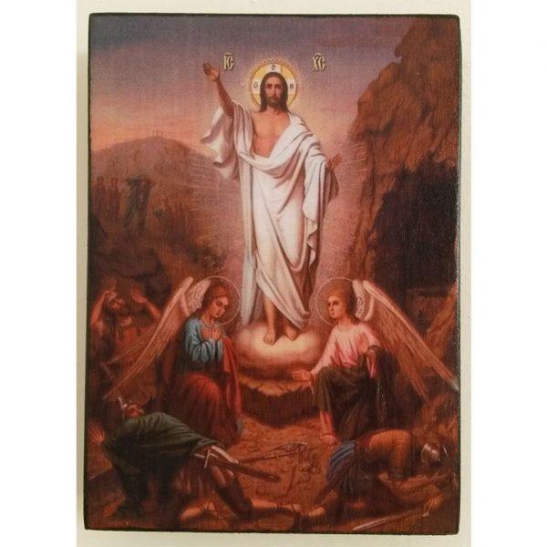 "Easter, Christian Icon 4x3"" (11x8cm) - Artastate"