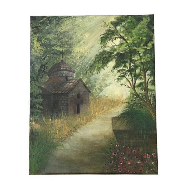 "Fate, Acrylic Painting 20x16"" (50x43cm) - Artastate"
