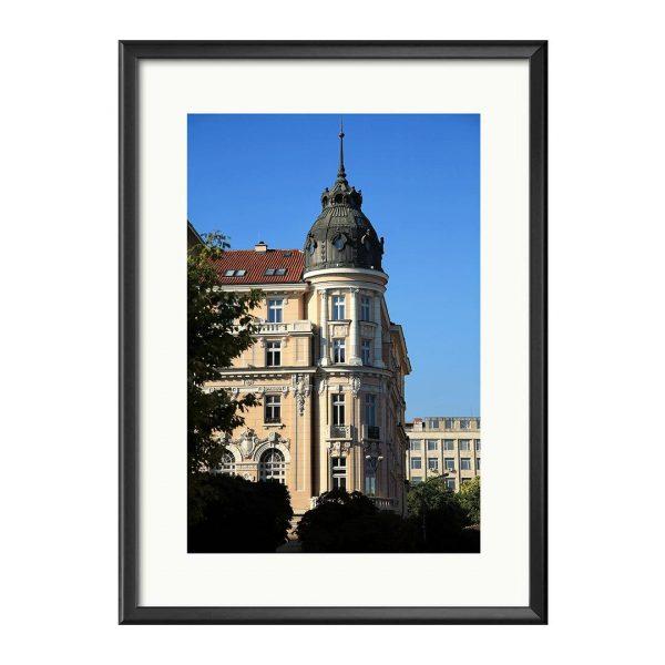 Old Sofia, Photography Framed Art Print by Kayya Hristova