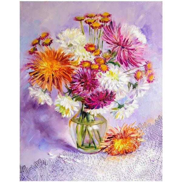 Gently, Oil Painting 20x16 in / 50x40 cm