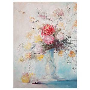 Vase, Oil Painting by Nikolai Pashkov