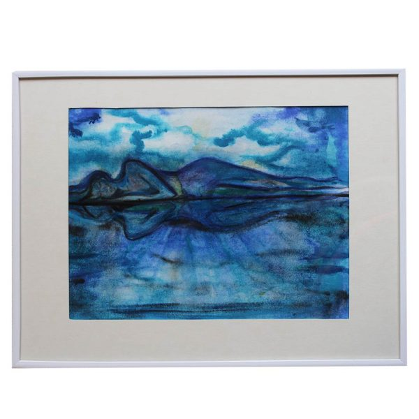 """Reflections, Water Colour Painting 12x16"""" (31x41cm)"""