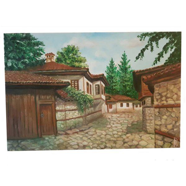 "Koprivshtitsa, Oil Painting 24x16"" (60x40cm)"