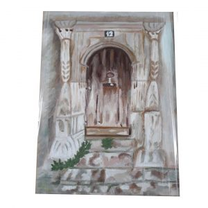 House of Secrets, Oil Painting 18x14 in / 45x35 cm