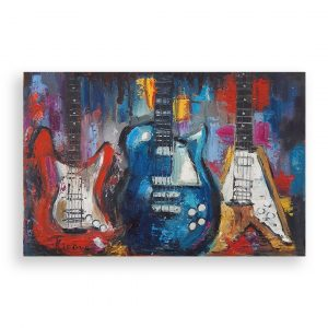 Music, Oil Painting by Iliana Kirova