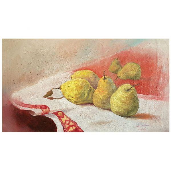 Quince, Oil Painting by Nikolai Pashkov