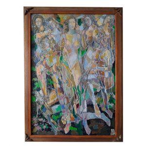 31th of July, Oil Painting by Veselin Nikolov
