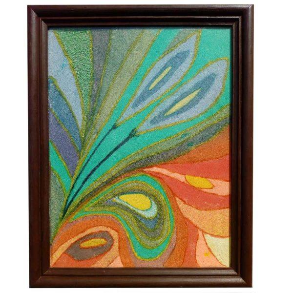 Fantasy, Acrylic Painting 18x14 in / 45x36 cm