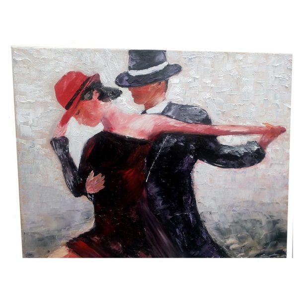 Tango, Oil Painting 20x16 in / 50x40 cm