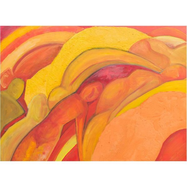 "Good Morning, Acrylic Painting 45x32"" (115x80cm)"