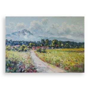 Homeland, Oil Painting by Georgi Paunov