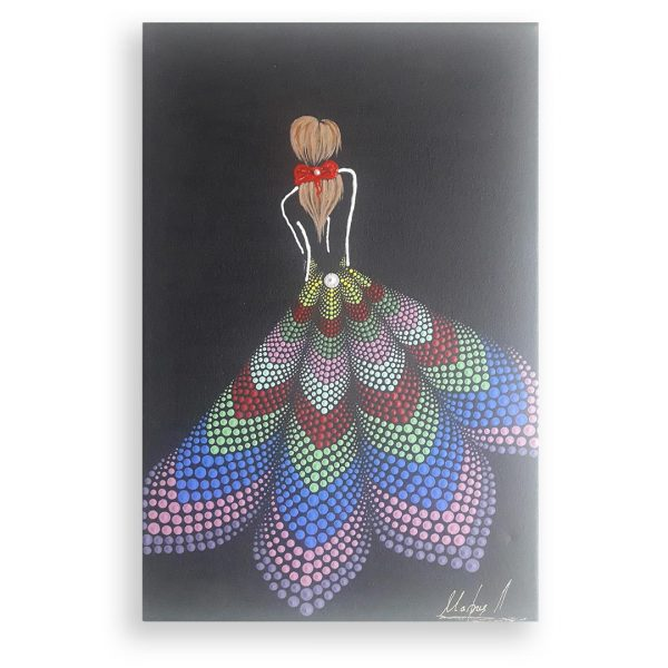 Dream, Original Mandala Painting by Maria Derova