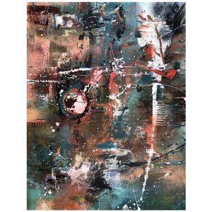 Milky Way, Oil Painting 47x35 in / 120x90 cm