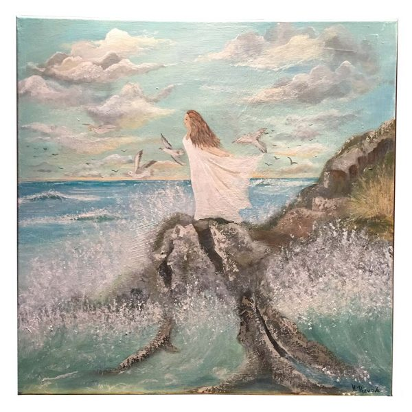 "Freedom, Acrylic Painting 24x24"" (60x60cm)"