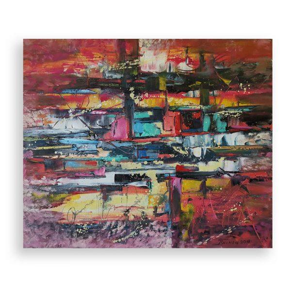 Abstract, Oil Painting by Georgi Paunov