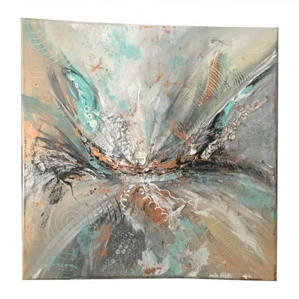"Glow in Mind, Acrylic Painting 16x16"" (40x40cm)"