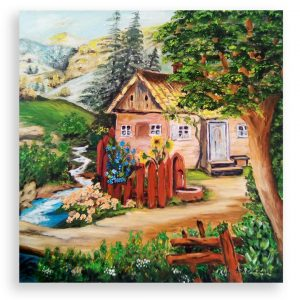 Fairy Landscape, Oil Painting by Ivanka Alexieva