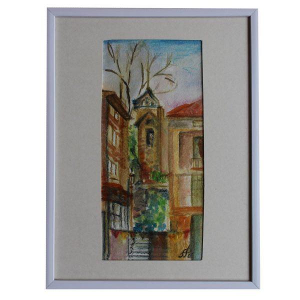 """Landscape, Water Colour Painting 12x16"""" (19x25cm)"""