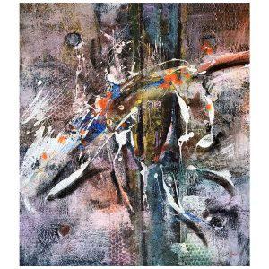 Dance, Oil Painting 31x28 in / 80x70 cm