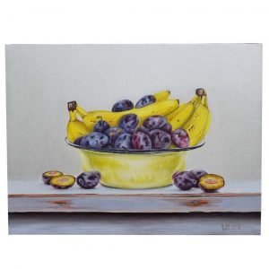 Plums, Oil Painting 16x12 in / 40x30 cm