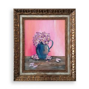 Colorful Memories, Acrylic Painting by Evelina Milanova