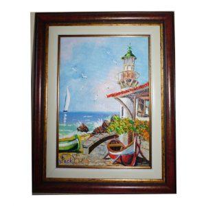 "Meditation, Oil Painting 14x11"" (35x28cm)"