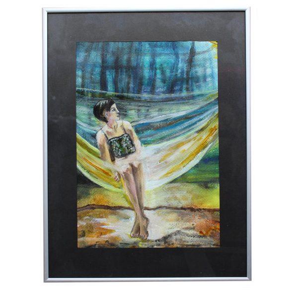 "Swing, Acrylic Painting 12x16"" (30x40cm)"
