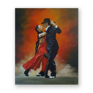 Passion, Acrylic Painting by Desislava Docheva
