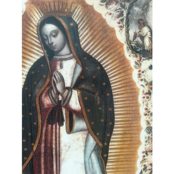 """Our Lady of Guadalupe, Christian Icon 8x6"""" (21x15cm) - Artastate"""