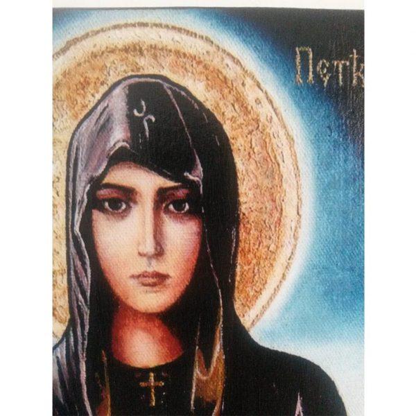 """Saint Petka"" Christian Icon 8x6"" (21x15cm)"