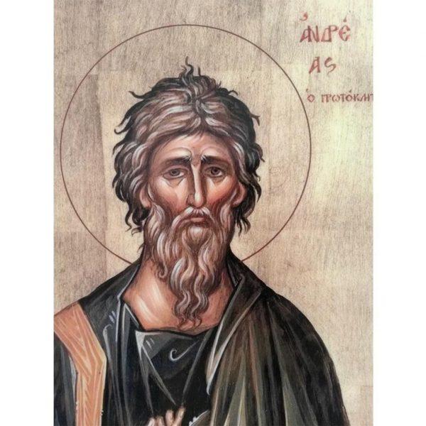 "Saint Andrew, Christian Icon 8x6"" (21x15cm) - Artastate"