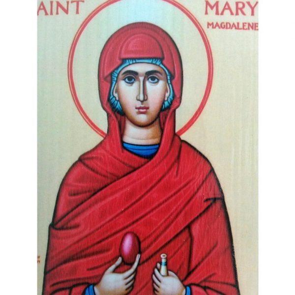 "Saint Mary Magdalene, Christian Icon 4x3"" (11x8cm) - Artastate"