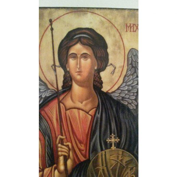"Saint Michael, Christian Icon 4x3"" (11x8cm) - Artastate"