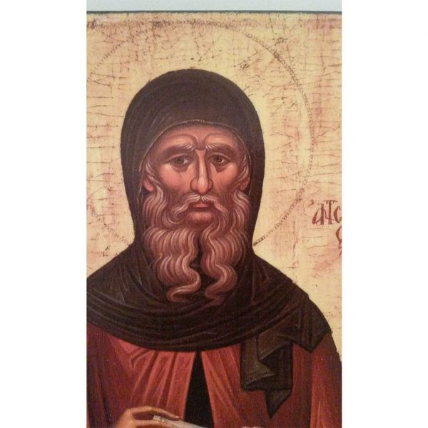 "Saint Anthony"" Christian Icon 8x6"" (21x15cm) - Artastate"