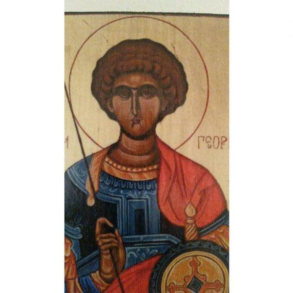"Saint George, Christian Icon 4x3"" (11x8cm) - Artastate"
