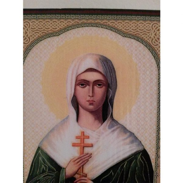 "Saint Daria, Christian Icon 4x3"" (11x8cm) - Artastate"