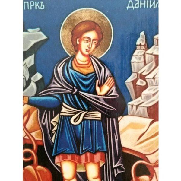 "Saint Daniel, Christian Icon 8x6"" (21x15cm) - Artastate"