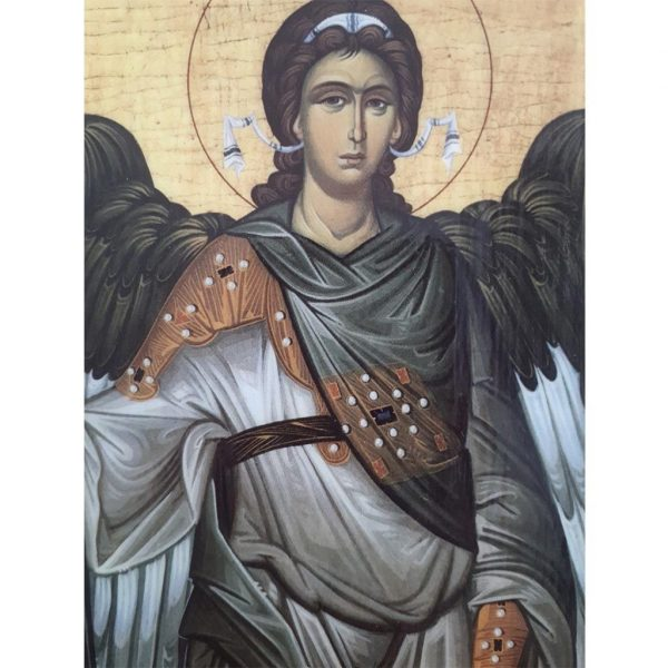 "Saint Michael, Christian Icon 6x4"" (16x11cm) - Artastate"