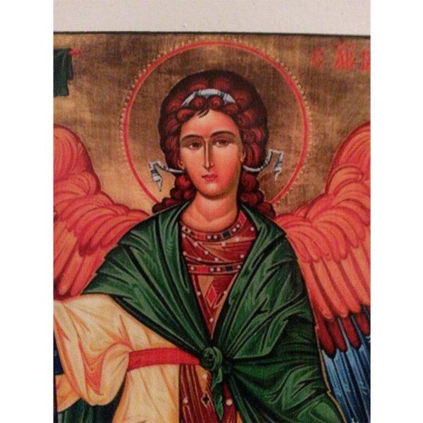 "Saint Gabriel, Christian Icon 4x3"" (11x8cm) - Artastate"
