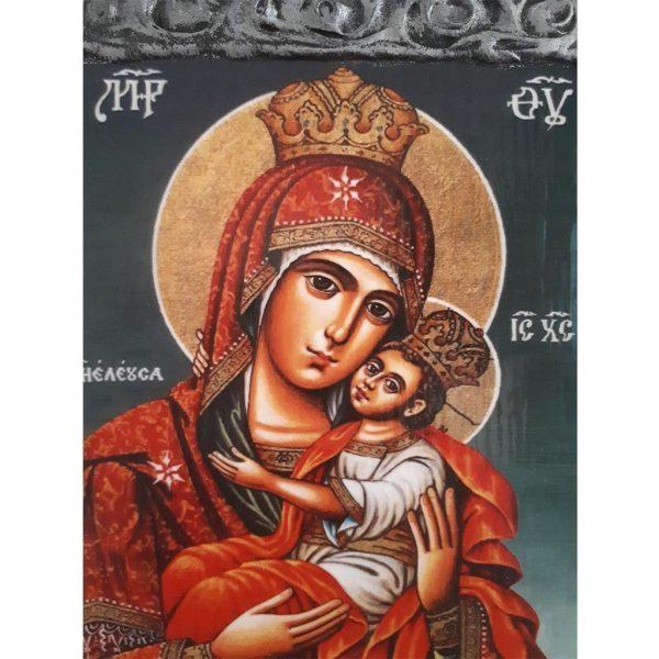 """""""Theotokos"""" Christian Icon 10x8"""" (26x20cm)"""