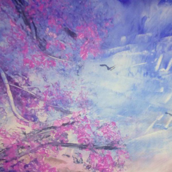 "Spring, Oil Painting 7x10"" (19x27cm)"